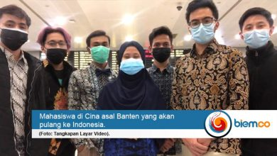 Photo of Gubernur Banten Fasilitasi Kepulangan Mahasiswa di Cina