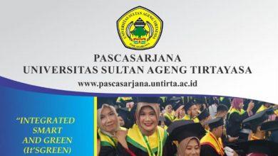 Photo of Pascasarjana Untirta Buka Pendaftaran Mahasiswa Baru S2 dan S3