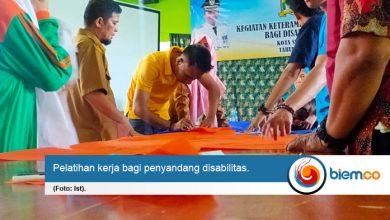 Photo of Penyandang Disabilitas Kota Serang Diberikan Pelatihan Kerja