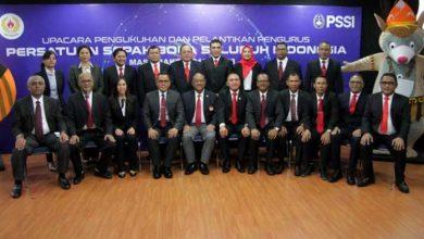 Photo of Pengurus PSSI Periode 2019-2023 Resmi Dilantik, Ini Daftarnya