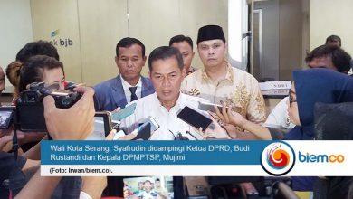 Pasca ambruk Pelayanan DPMPTSP Pindah ke kantor BJB Kota Serang