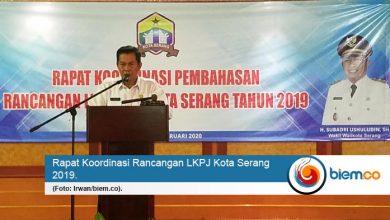 Pemkot Serang Genjot Rancangan LKPJ 2019