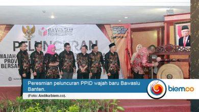 Inginkan Pilkada Partisipatif, Bawaslu Banten Launching Website PPID Wajah Baru