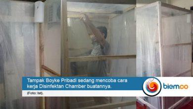 Photo of 'Disinfektan Chamber', Solusi Umat di Tengah Covid-19
