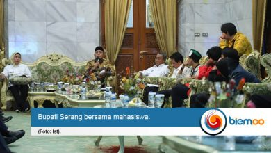 Photo of Jalankan Pembangunan, Bupati Serang Minta Mahasiswa Mengawal