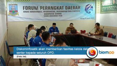 Diskominfosatik Kabupaten Serang Pastikan Sistem Satu Data Aman
