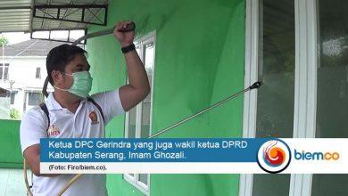 Photo of Cegah Covid-19, DPC Gerindra Turun Gunung Lakukan Penyemprotan Disinfektan