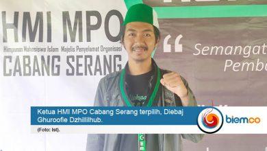 Photo of Semangat Rangkul Kader, Diebaj Terpilih Nakhodai HMI MPO Serang