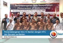 Photo of Pilkada 2020, KI Teken MoU dengan KPU dan Bawaslu se-Banten