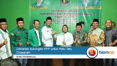 Photo of PPP Usung Ratu Tatu Chasanah di Pilkada Kabupaten Serang