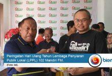 Photo of 15 Tahun Mandiri FM, Begini Pesan Wali Kota Cilegon