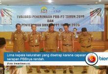 Photo of Serapan PBB-P2 Rendah, Lima Kepala Kelurahan di Kota Serang Disetrap
