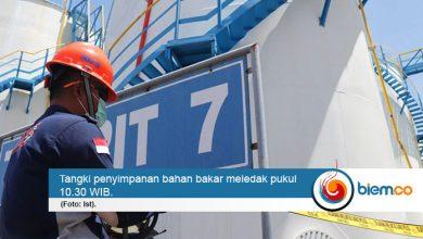 Photo of Tangki BBM dan Kimia PT Redeco Petrolin Utama Meledak