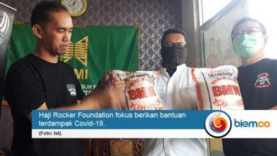Photo of Ini Cara Haji Rocker Foundation Berbagi Saat Pandemi Covid-19