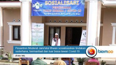 Photo of Ponpes Jami'atul Ilhwan Sosialisasikan Hidup Sehat Lawan Covid-19 Kepada Santri