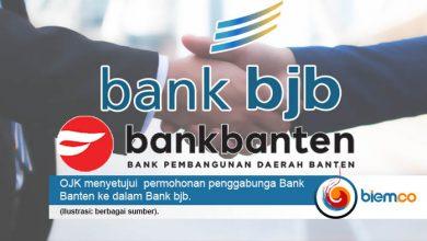 Photo of OJK Izinkan Penggabungan Bank Banten dengan BJB