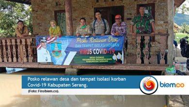 Photo of Desa di Kabupaten Serang Perangi Covid-19