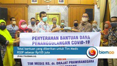 Photo of Guru dan Tenaga Kependidikan di Kabupaten Serang Bantu Tim Medis RSDP