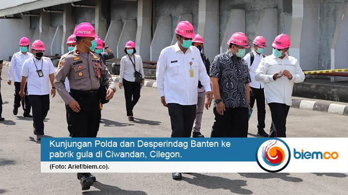 Disperindag dan Polda Banten Pastikan Stok dan Harga Gula Aman