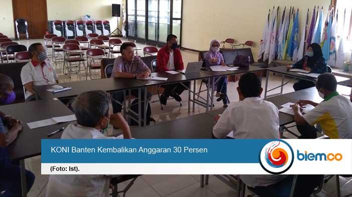 PON Papua Ditangguhkan, KONI Banten Kembalikan Anggaran 30 Persen