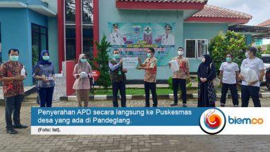Laz Harfa Distribusikan APD untuk Puskesmas Desa di Pandeglang