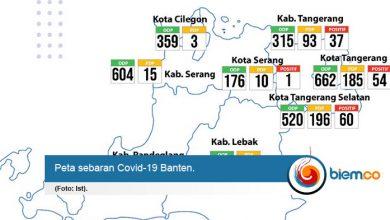 Photo of Covid-19 Masuk ke Kota Serang, Satu Warga Positif
