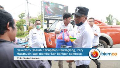 Photo of Distribusikan Bantuan Sembako, Pemkab Pandeglang Sasar Tukang Ojek