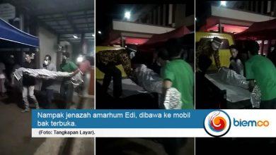 Photo of Jenazah Warga Dibawa Mobil Bak Terbuka, Dinkes Pandeglang Minta Maaf