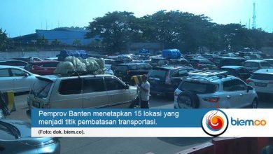 Photo of Pelarangan Mudik, Ini 15 Lokasi Titik Pembatasan Transportasi di Banten