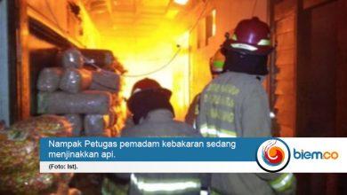 Photo of Pabrik Kerupuk dan Gudang Bihun di Kota Bandung Dilalap Si Jago Merah
