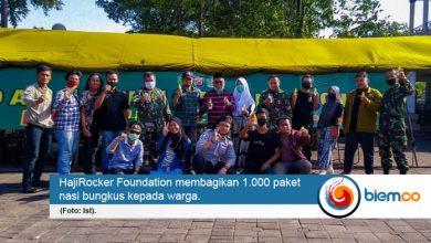 Photo of HajiRocker Foundation Giatkan Bantuan Lewat Dapur Umum