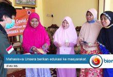 Photo of Mahasiswa Unsera Sosialisasikan Pencegahan Covid-19 Kepada Masyarakat