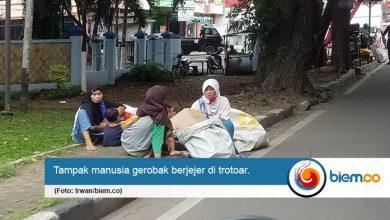 Manusia Gerobak di Kota Serang Tren Saat Ramadan Saja