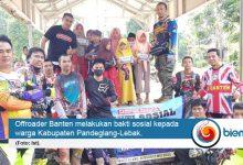 Photo of Offroader Banten Santuni 150 Anak Yatim