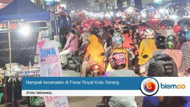 Photo of Warga Kota Serang Kebal Covid-19, Pasar Royal dan Toko Pakaian Ramai