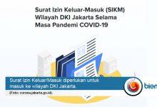 Photo of Ini Cara Agar Surat Izin Keluar Masuk DKI Jakarta Disetujui