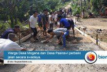 Photo of Lagi, Warga Pandeglang Gotong Royong Perbaiki Jalan