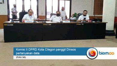 Komisi II DPRD Kota Cilegon Minta Dinsos Evaluasi Data Penerima Bansos