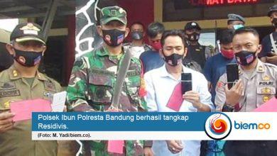 Photo of Polsek Ibun Polresta Bandung Amankan 3 Tersangka Pelaku Pencurian