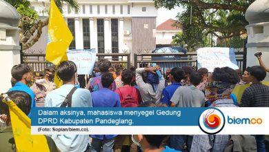 Photo of PMII Pandeglang Anggap Unsur Pemerintahan Tak Tegas Soal Izin Perusahaan