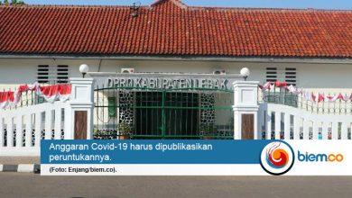 Photo of DPRD Lebak Pertanyakan Alokasi Anggaran Penanganan Covid-19
