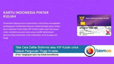 Photo of Tata Cara Daftar Bidikmisi atau KIP Kuliah untuk Masuk PTS