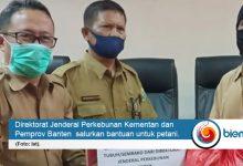 Photo of Terdampak Covid-19, Ratusan Petani Banten Dapat Bantuan Sembako