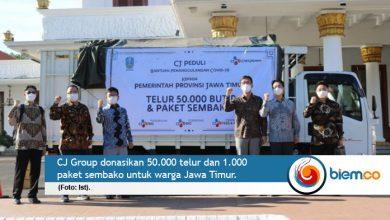 Photo of CJ Group Gotong Royong Bantu Warga Terdampak Covid-19 di Jatim