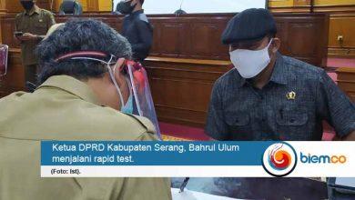 Photo of Anggota dan Pegawai DPRD Kabupaten Serang Jalani Rapid Test, Ini Hasilnya