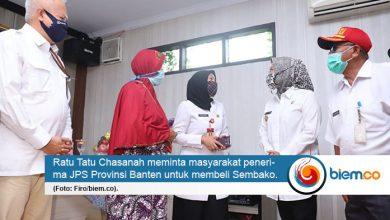 Photo of JPS Pemprov Banten Turun, Bupati Serang Minta Penerima Belikan Sembako