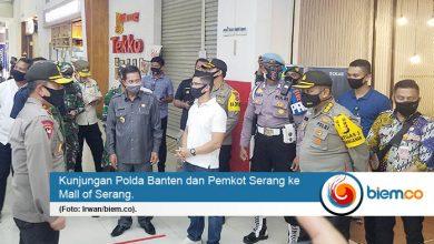 Polda dan Pemkot Kunjungi Pusat Perbelanjaan di Kota Serang