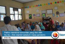Photo of Komunitas Binaan Pattiro Serang Produksi Belasan Ribu Masker