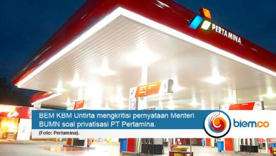 Photo of BEM KBM Untirta Kritisi Privatisasi PT Pertamina