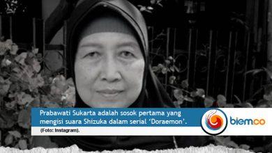 Photo of Prabawati Sukarta, Pengisi Suara Shizuka 'Doraemon' Tutup Usia
